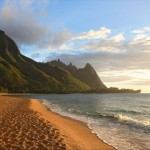 Bali Hai backdrop for your evening beach walks